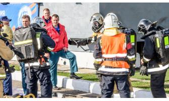 Соревнования среди пожарных на приз Дехтерёва в Санкт-Петербурге