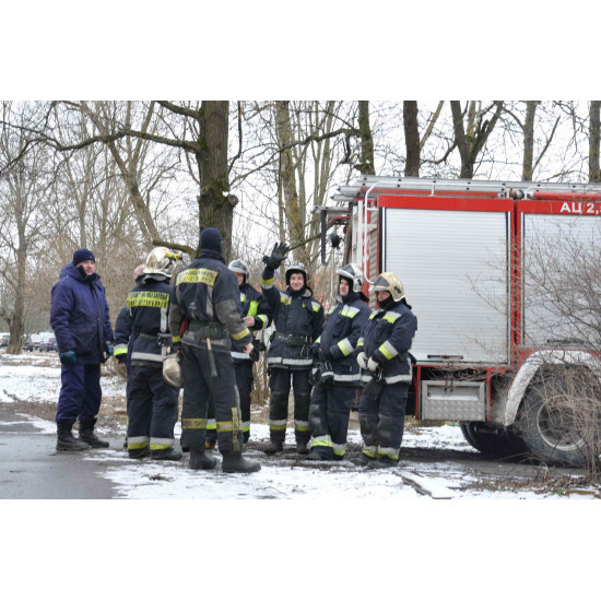 Кобура для топора пожарного