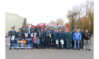 Открытое первенства среди подразделения Абаканского пожарно-спасательного гарнизона