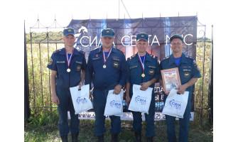 Аварийная разведка и спасение пожарных: соревнования в Курске