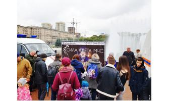 День открытых дверей пожарной охраны Московского района